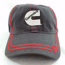 Cummins Baseball Hat Cap Rocky Mountain Gray Red White Strapback Adjustable