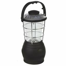 Rechargeable LED camping lantern wind up dynamo light travel lamp