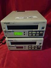 Lot of 2 Panasonic AG-5210P Video Cassette Recorder Parts/Repair