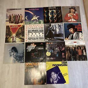 14 LP´s Schallplattensammlung Rock/Pop/Jazz