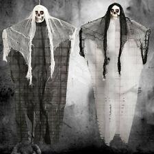 Fiesta de Halloween Colgante Fantasmas Decoración de voz Esqueleto Calavera Fantasma Horror Accesorios