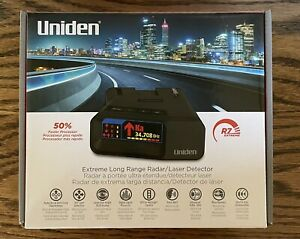 NEW Uniden R7 Long Range Radar Detector with GPS Threat Detection FAST SHIPPING