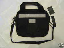 MARC by Marc Jacobs MINI Messenger Bag  BLACK Small Laptop Pad Tablet Reader