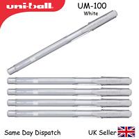 UNI-BALL UNIBALL SIGNO UM-100 EYE GEL PEN - 0.7mm  - UM100 WHITE - 1,2,3,6,12