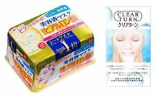 Face Mask KOSE Clear Turn Essence Hyaluronic acid 30 sheets Japan Import