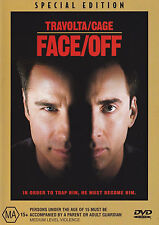 Face/Off (DVD, 2001) John Travolta & Nicolas Cage Special Edition Face Off