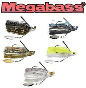Megabass Uoze Swimmer 3/8 OZ  Swim Jig With Belly Blade (Select Color)