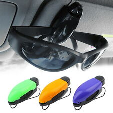 Car Vehicle Accessory Sun Visor Sunglasses Eye Glasses Card Pen Holder Clip LQ