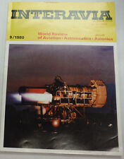 Interavia Magazine British Aerospace Breaking 200KN September 1980 FAL 062215R2