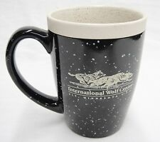 International Wolf Center Mug Ely Minnesota Conservation Black and Tan