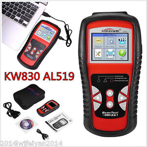 KW830 AL519 CAN OBD2 OBDII EOBD Car Van Code Reader Scanner Diagnostic Scan Tool