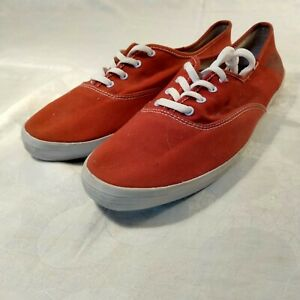 Keds woman's red canvas sneaker size 13