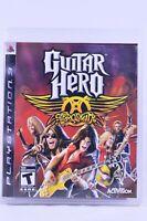 Guitar Hero: Aerosmith (Sony PlayStation 3 PS3, 2008)