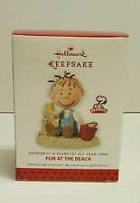 2013 Hallmark Fun At The Beach Happiness is Peanuts All Year Long Ornament New