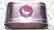 Old T.S.M.V Wanganella Huddart Parker Line Napkin Ring WW2 Hospital Ship