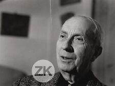 JEAN ARP HANS Peintre Sculpteur Collage FRASNAY Photo 1950s