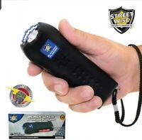 Black Jack 21,000,000 Volt Stun Gun & Ear-Piercing Personal Alarm - Streetwise