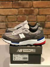 NEW BALANCE SHOES STYLE M992AG COLOR GREY/BLUE MADE IN THE USA WIDTH D