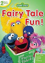 Sesame Street DVD - Fairytale Fun Kermit Elmo Oscar Preschoolers Education