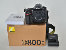 Nikon D D800E 36.3MP Digital SLR Camera, good user, minor issues, read listing