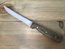 "Vintage Chicago Cutlery 61S Utility Boning Knife Razor Sharp 6"" Blade USA Made"
