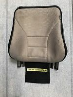 """PERMOBIL BACK SHELL 17-21"""" Tall & GEL PAD 16"""" W x 17"""" T for CORPUS ll - PERFECT."""