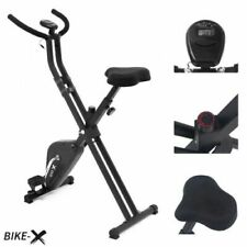 Esprit BIKE-X Foldable Exercise Bike BLACK Fitness Weight Loss Machine