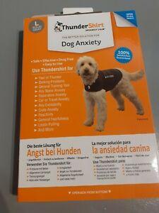 Thundershirt dog anxiety vest grey for large dogs barking stress