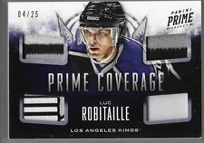 13/14 Prime Coverage Stick Patch Jersey Strap Luc Robitaille /25 CV-LUC Kings