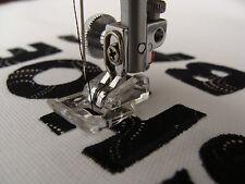 JANOME macchine da cucire APPLIQUE FOOT CAT B / C parte no. 202023001 (1st Class Post)