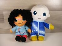 Moon & Me Playskool Moon Baby& Pepi Nana Talking Soft Toy Plush Bundle Cbeebies