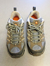 "Merrell  ""Moab Ventilator"" blue and gray hiking shoes. Women's 10 (eur 41)"
