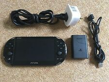 Sony PS Playstation Vita Negro Slim Lite Consola versión 3.65 (PCH-2003) - 1GB - #07