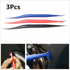 3X Car Vinyl Wrap Tools Gasket Micro Squeegee For Screen Air Bubble Remover Tool