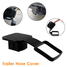 Trailer Van Hitch Receiver Plug Cover Cap Trailer Hook Dust Plug Protector Black