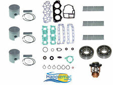 Yamaha 40 50 HP 3 Cylinder Powerhead Rebuild Kit 1984-1994 +Main Bearings