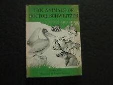 The Animals Of Doctor Schweitzer by Jean Fritz (HC, 1958)