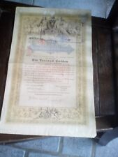 Österreichische Staatsschuldverschreibung, Wien 1868 waardepapieren
