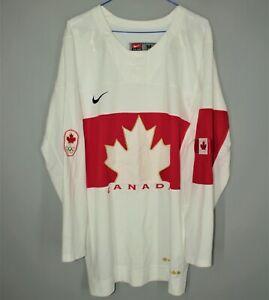 CANADA NATIONAL TEAM ICE HOCKEY TEAM JERSEY SHIRT 2014 AWAY NHL NIKE SIZE M