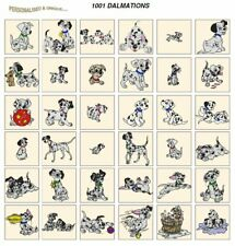 1001 Dalmations tarjeta máquina Embroidery Designs JEF archivos para Janome 300e 350e