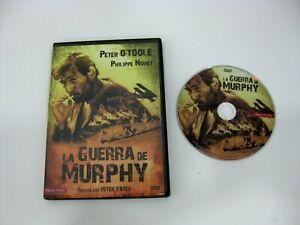 LA GUERRA DE MURPHY DVD PETER O'TOOLE PHILIPPE NOIRET