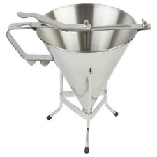Professional Confectionery Funnel Stainless Steel With Three Nozzles And Stand