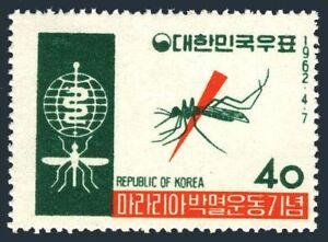 Korea South 350,MNH.Michel 344. WHO drive to eradicate Malaria, 1962.