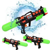 Super Soaker Sprayer Pressure Pump Action Water Gun Pistols Beach Garden Toy