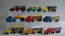 Ferrero Autos Trucks 9 stuks s224
