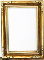 Vintage carved gold leaf frame fits 10 x 15 painting