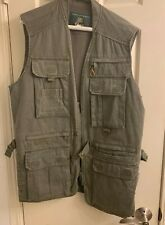 Orvis Size Small Dark Green Khaki Color - Outdoor Or Fishing Vest - Pockets