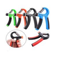 Adjustable Hand Power Grip Exerciser Strengthener Wrist Forearm Strength Trainer