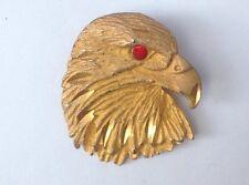 Bald Eagle Vintage Costume Jewellery Vintage Brooch Pin American