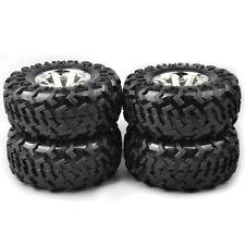 4Pcs 12mm Hex 3001 Climbing Tire Rims For HSP Racing 1:10 RC Monster Bigfoot Car